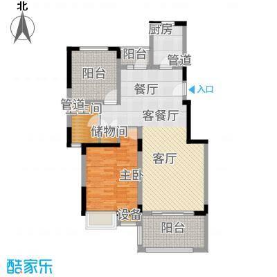 港城滴水湖馨苑88.09㎡A户型