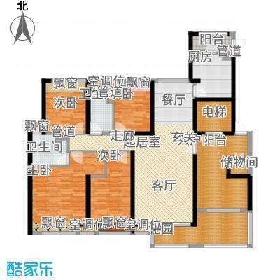 湛江万达广场163.00㎡D1户型
