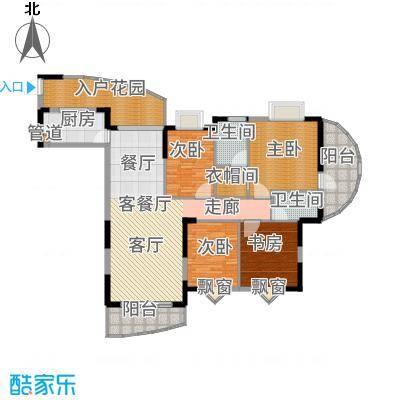 御景豪庭156.27㎡C2户型