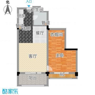 广弘城国际社区82.00㎡广弘城・小时代B2户型