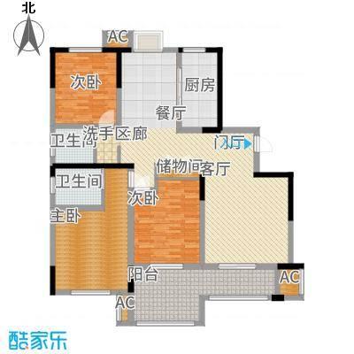 水岸豪庭东苑1户型