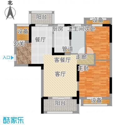 保利鑫城91.00㎡B5户型
