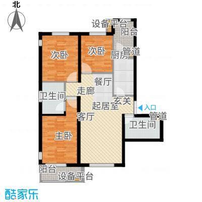 华中国宅华园售完D-3户型