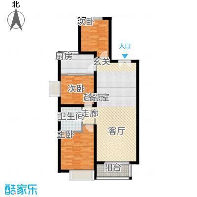 丹东万达广场A1-23、24号楼-C1户型