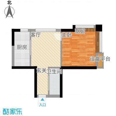 印象江南51.68㎡D户型