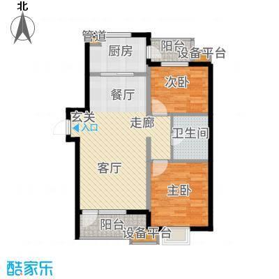 华润海中国7号楼C户型