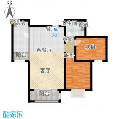 悦澜湾93.81㎡9381户型