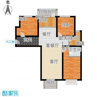 悦澜湾144.16㎡14416户型