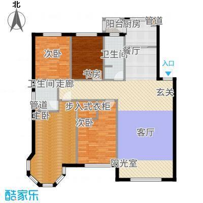 香山美墅143.70㎡户型