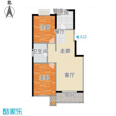 西溪诚园洋房8-13号楼标准层A户型