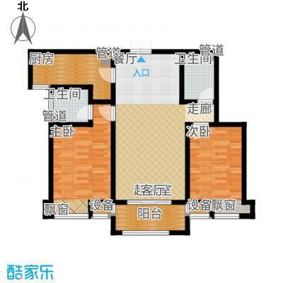 海棠湾5#标准层D4户型