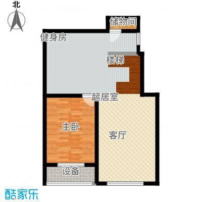 北京奥林匹克花园ⅢB1-XY1下层户型