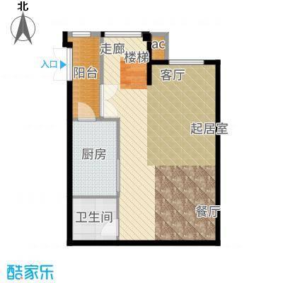 永定河孔雀城(永定河孔雀城铂宫)孔雀城三期C(一层)户型4室3厅