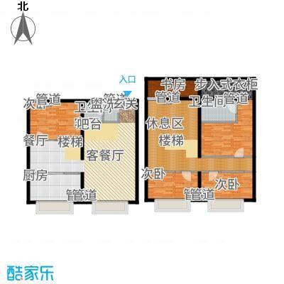 UP生活103.46㎡KT-1-户型4室3厅