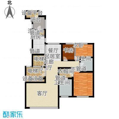 远洋·万和公馆170.00㎡A户型2室3厅