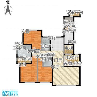 远洋·万和公馆207.00㎡B户型3室3厅