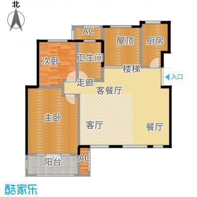 鲁能·7号院115.38㎡F5五层户型