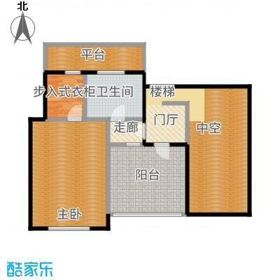 鲁能·7号院71.26㎡F5六层户型