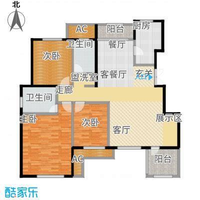 鲁能·7号院134.59㎡F4四层户型