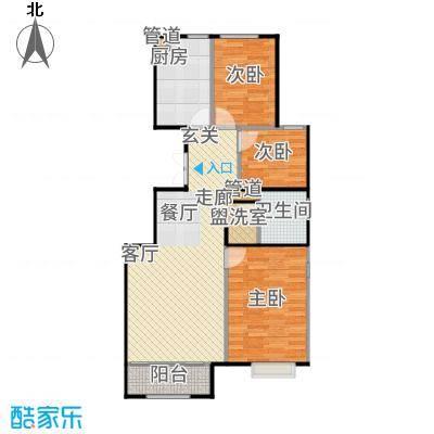 北京城建·世华龙樾94.00㎡北京城建世华龙樾D户型3室2厅