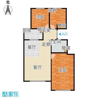 北京城建·世华龙樾85.00㎡二期Dd2户型3室2厅