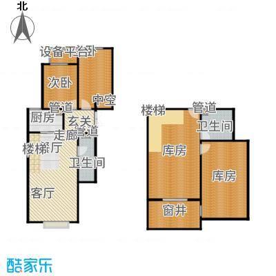 北京城建·世华龙樾80.00㎡二期Ax1户型2室2厅