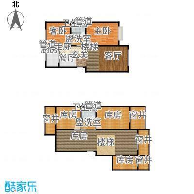 北京城建·世华龙樾85.00㎡二期Gx户型2室2厅