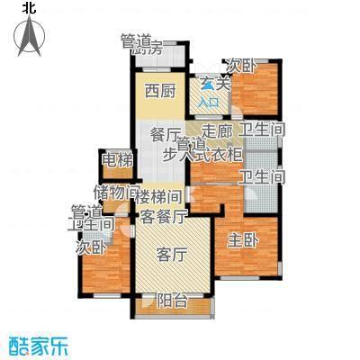 五矿万科·如园240.00㎡北区3#、7#首层A户型3室2厅
