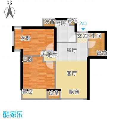 金融街·融汇72.00㎡A2户型2室2厅