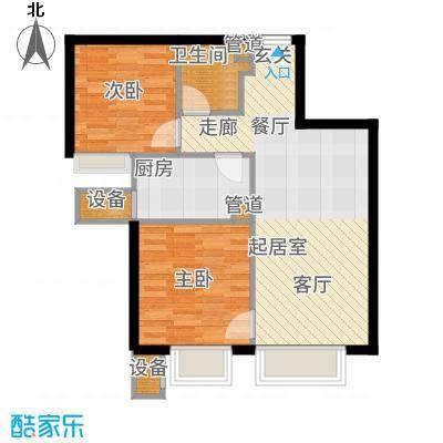 金融街·融汇75.00㎡A1户型2室2厅