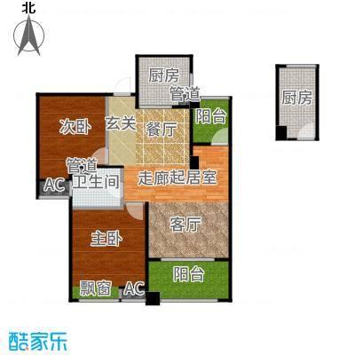 恒文星尚湾89.00㎡星尚湾D3/位于23、25、28、29#户型2室2厅