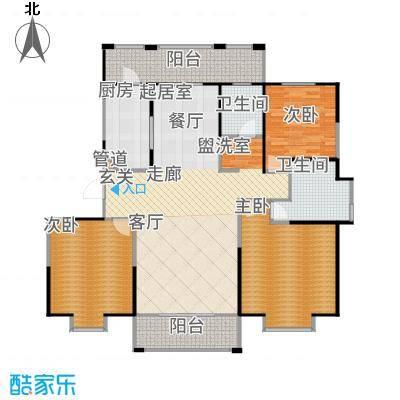 新江湾中凯城市之光143.00㎡B3户型3室2厅