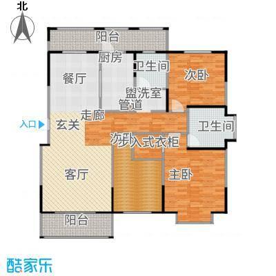 新江湾中凯城市之光147.00㎡B1-1户型3室2厅