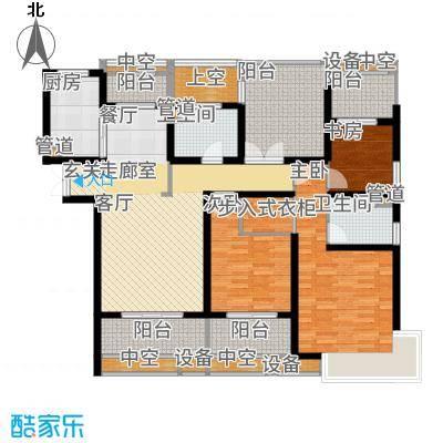中科苑141.00㎡17号楼户型3室2厅