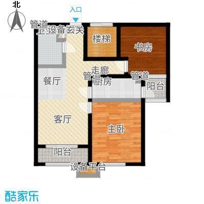 中国铁建环保嘉苑85.20㎡户型2室