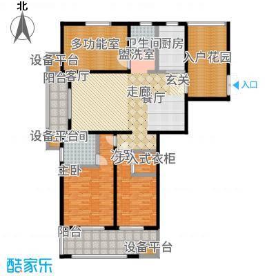 尊悦大厦181.39㎡A户型3室2厅