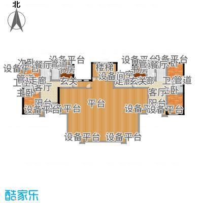 紫峰·九院城94.00㎡一期D户型3室2厅