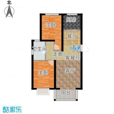 裕隆公寓二期103.00㎡D户型2室2厅