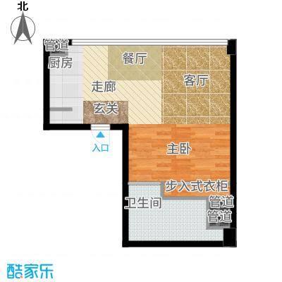 北京海航国兴城53.00㎡海航国兴城户型1室