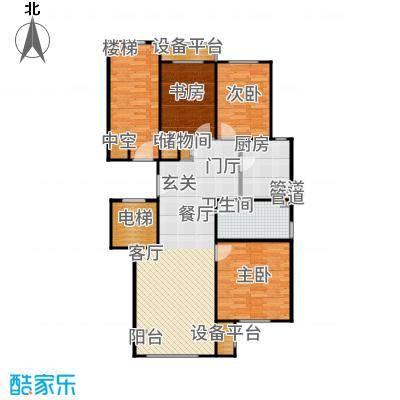 润西山·B组团108.00㎡C2户型3室2厅