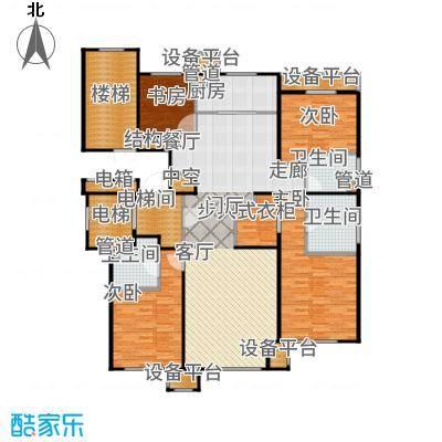 润西山·B组团165.00㎡B户型4室2厅