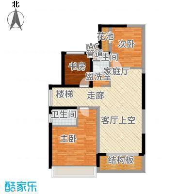 中粮一品澜山花园145.00㎡E--户型5室3厅