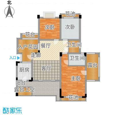 海宇学府江山一期7-21号楼C4户型3室2厅