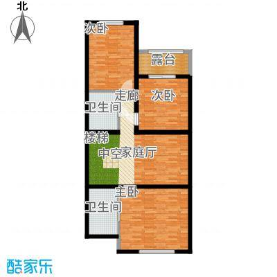 翡翠御园一期1-72栋B4二层-户型