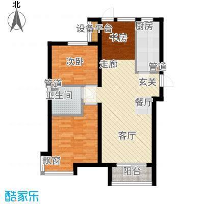 金隅悦城90.00㎡洋房K户型3室2厅
