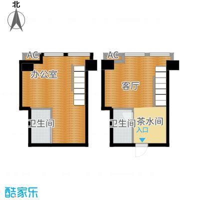 中海八里臺38.00㎡公寓A户型