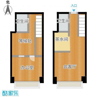 中海八里臺53.00㎡公寓B户型