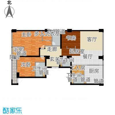 中城国际广场224.00㎡G2面积22400m2户型3室2厅