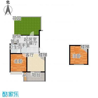 朗诗未来街区63.00㎡C户型2室2厅
