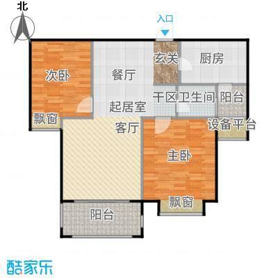 澜调国际95.00㎡A02户型2室2厅